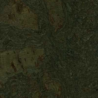 Duro Design Cleopatra Negra Cork Tiles 12 x 12 Steel Green