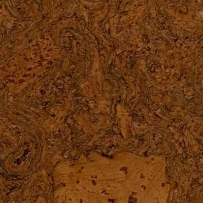 Duro Design Cleopatra Negra Cork Tiles 12 x 24 Walnut