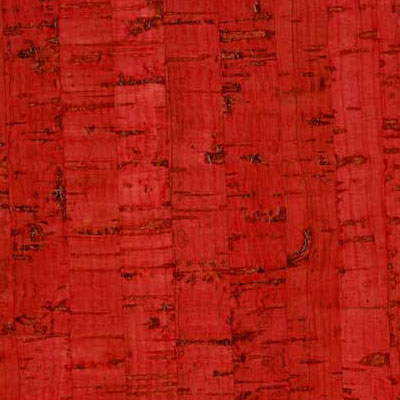 Duro Design Edipo Cork Tiles 12 x 24 Scarlet Red