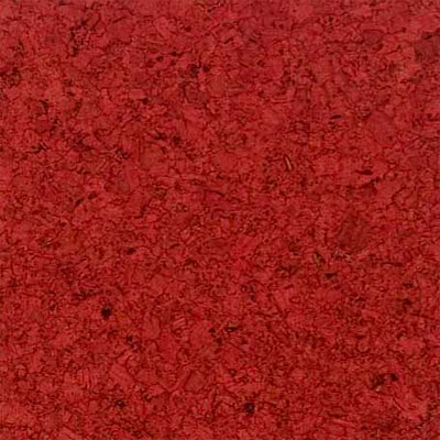 Duro Design Marmol Floating Cork Plank 12 X 36 Scarlet Red