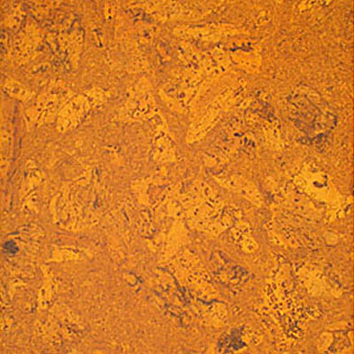 Globus Cork Glue Down Tiles Nugget Texture 12 x 12 Marigold