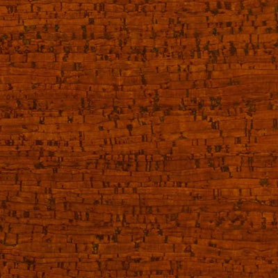 Globus Cork Glue Down Tiles Striata Texture 6 x 6 Amber Pine