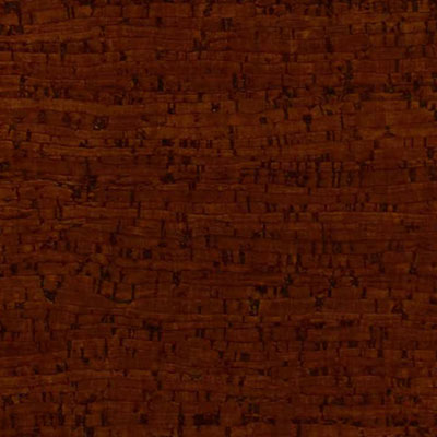 Globus Cork Glue Down Tiles Striata Texture 6 x 6 Cherry