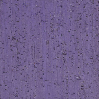 Globus Cork Glue Down Tiles Striata Texture 6 x 6 Dusty Lilac