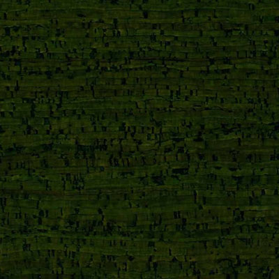 Globus Cork Glue Down Tiles Striata Texture 6 x 6 Forest Green
