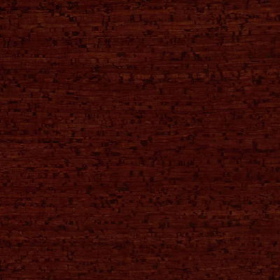 Globus Cork Glue Down Tiles Striata Texture 6 x 6 Red Mahogany