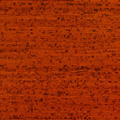 Globus Cork Glue Down Tiles Striata Texture 9 x 24 Tangerine