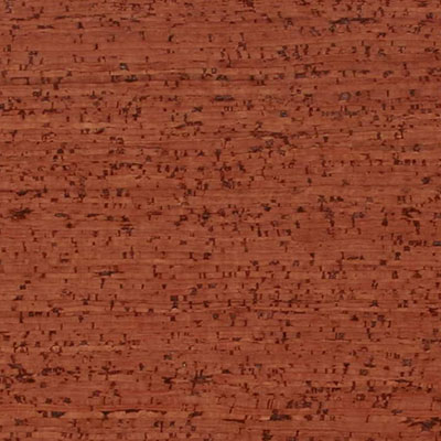 Globus Cork Glue Down Tiles Striata Texture 6 x 6 Terra Cotta