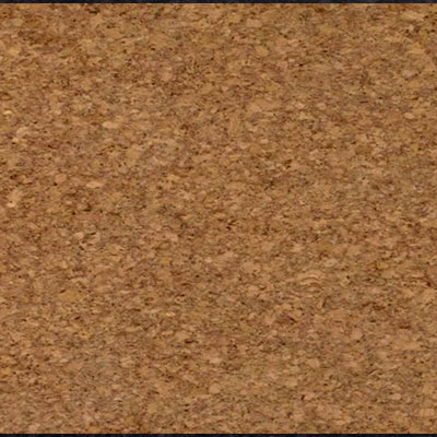 Globus Cork Glue Down Tiles Traditional Texture 9 x 18 Natural