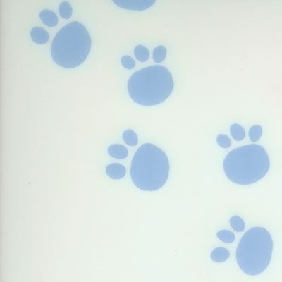 Tarkett Dare To Dream Paws White 23331 - (Glow In The Dark) 23331