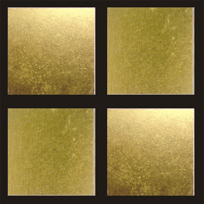 RG North America LLC RG Gold Series 3/4 x 3/4 24K Gold Leaf Flat PG8001