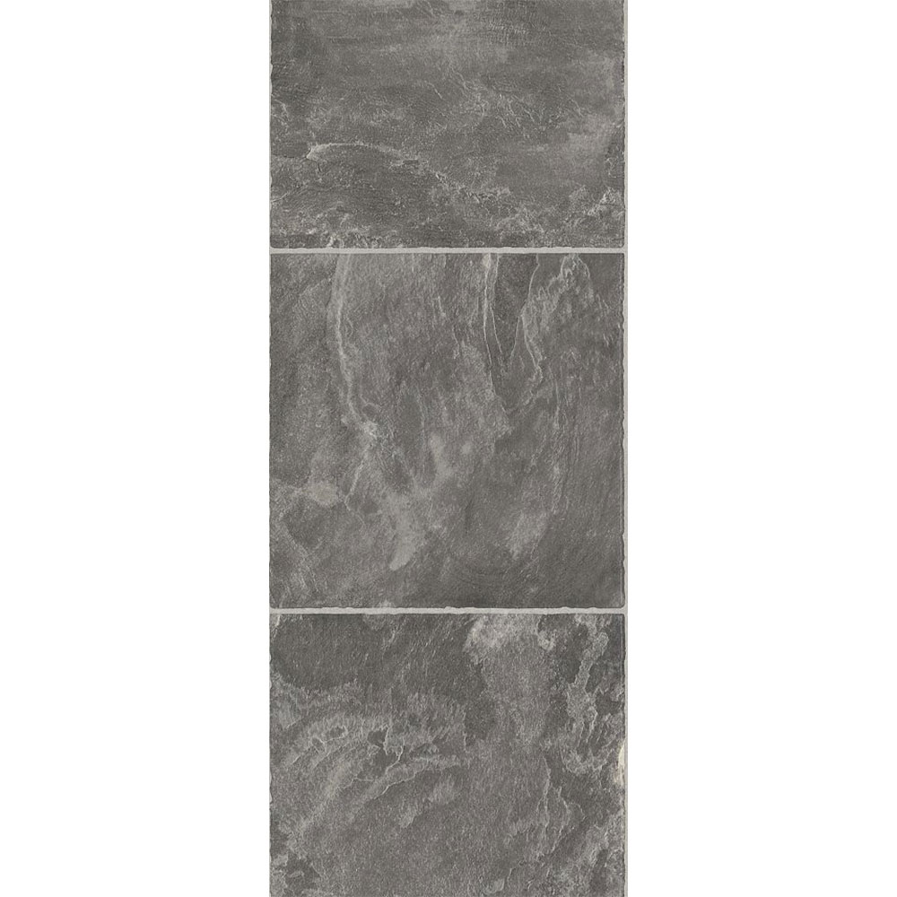 "® Tumbled Stone showcases 16"" wide slate and natural stone tile ..."