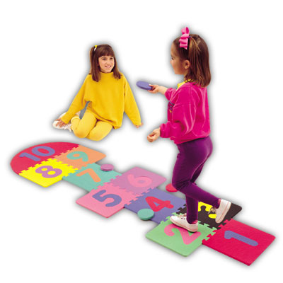 Alessco, Inc. Hopscotch Tile Set Hopscotch Tile Set 1250