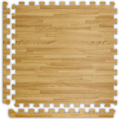 Alessco, Inc. Soft Woods with Corner/Border Light Oak Inside SW:LO SW IE