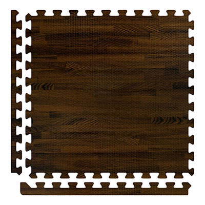 Alessco, Inc. Soft Woods with Corner/Border Walnut SWWT SW IE