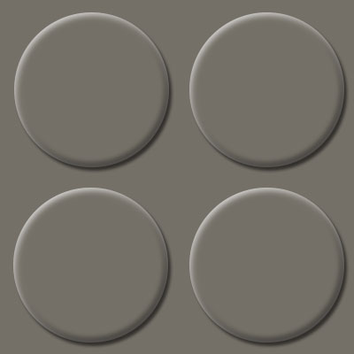 Armstrong Landing Tile Raised Round Shadow Gray