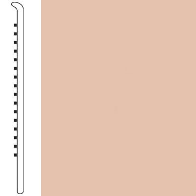 Armstrong Wallbase Straight 6 Peach Tone