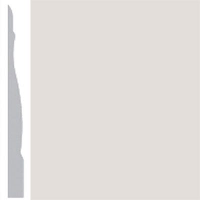 Burke Profiles Designer Rubber Wall Base Type TP Chamfered 4 1/4 Pearl Luster Metallic
