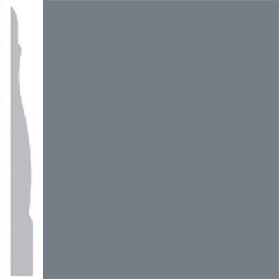 Burke Profiles Designer Rubber Wall Base Type TP Chamfered 4 1/4 Rocky