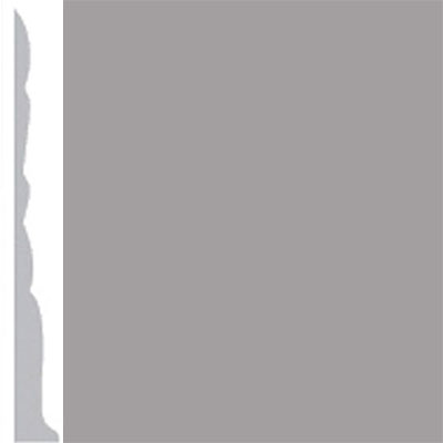 Burke Profiles Designer Rubber Wall Base Type TP Colonial 3 Gray