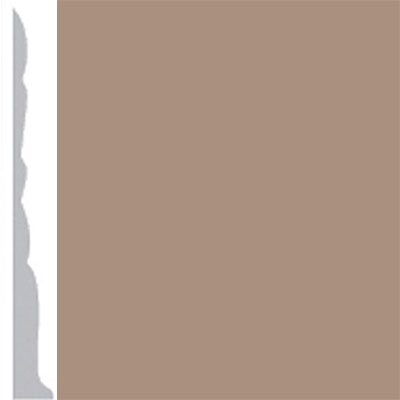 Burke Profiles Designer Rubber Wall Base Type TP Colonial 3 Light Beige