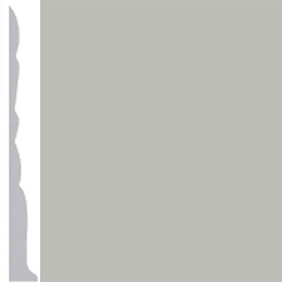 Burke Profiles Designer Rubber Wall Base Type TP Colonial 3 Light Gray