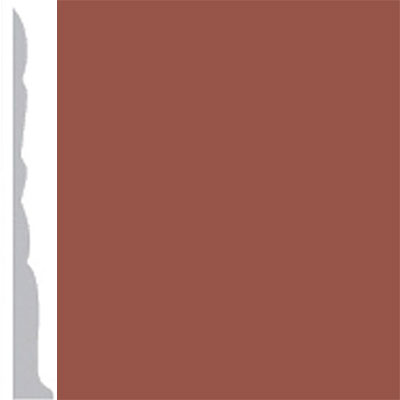 Burke Profiles Designer Rubber Wall Base Type TP Colonial 3 Nutmeg