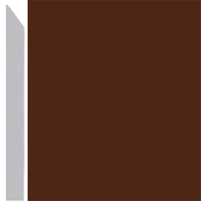 Burke Profiles Designer Rubber Wall Base Type TP Elusive 3 Brown