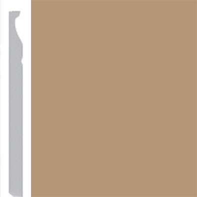 Burke Profiles Designer Rubber Wall Base Type TP Montego 5 1/4 Clay