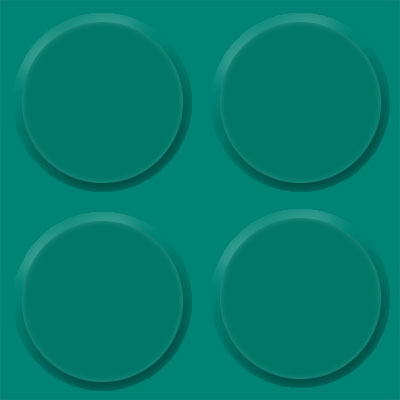 Burke Rouleau Round Profile Light Teal