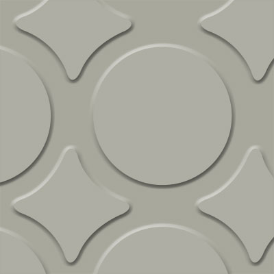 Flexco FlexTones Radial III Light Gray