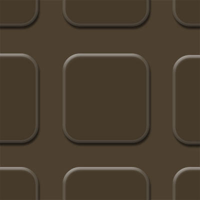 Flexco FlexTones Square Chocolate