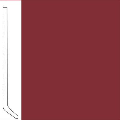 Flexco Wallflowers Wall Base 4-1/2 Cove Berry