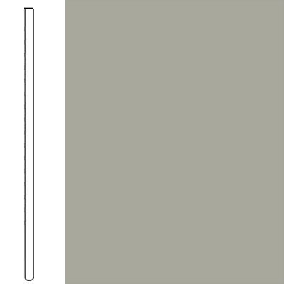 Flexco Wallflowers Wall Base 4 Straight Light Gray