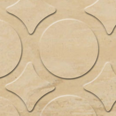 Flexco Evolving Styles Wood Elements Radial III Amber Map