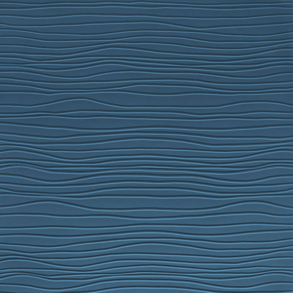 Johnsonite Solid Colors Bamboo Surface 24 x 24 .125 Blue Jeans