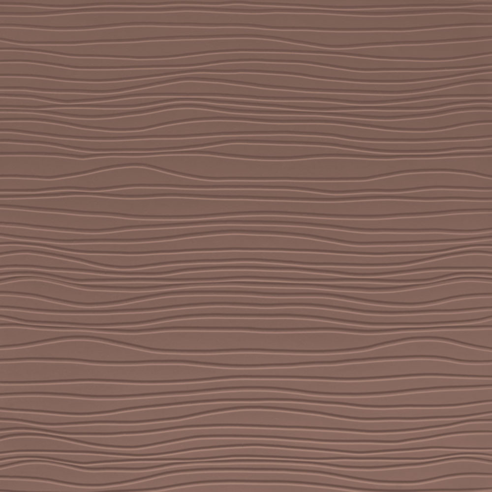 Johnsonite Solid Colors Bamboo Surface 24 x 24 .125 Milk Chocolate