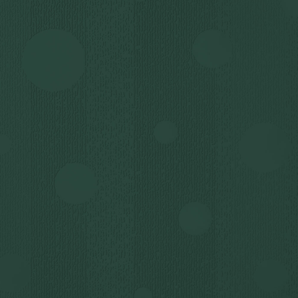 Johnsonite Circulinity Effervescent Texture 24 x 24 Hunter Green