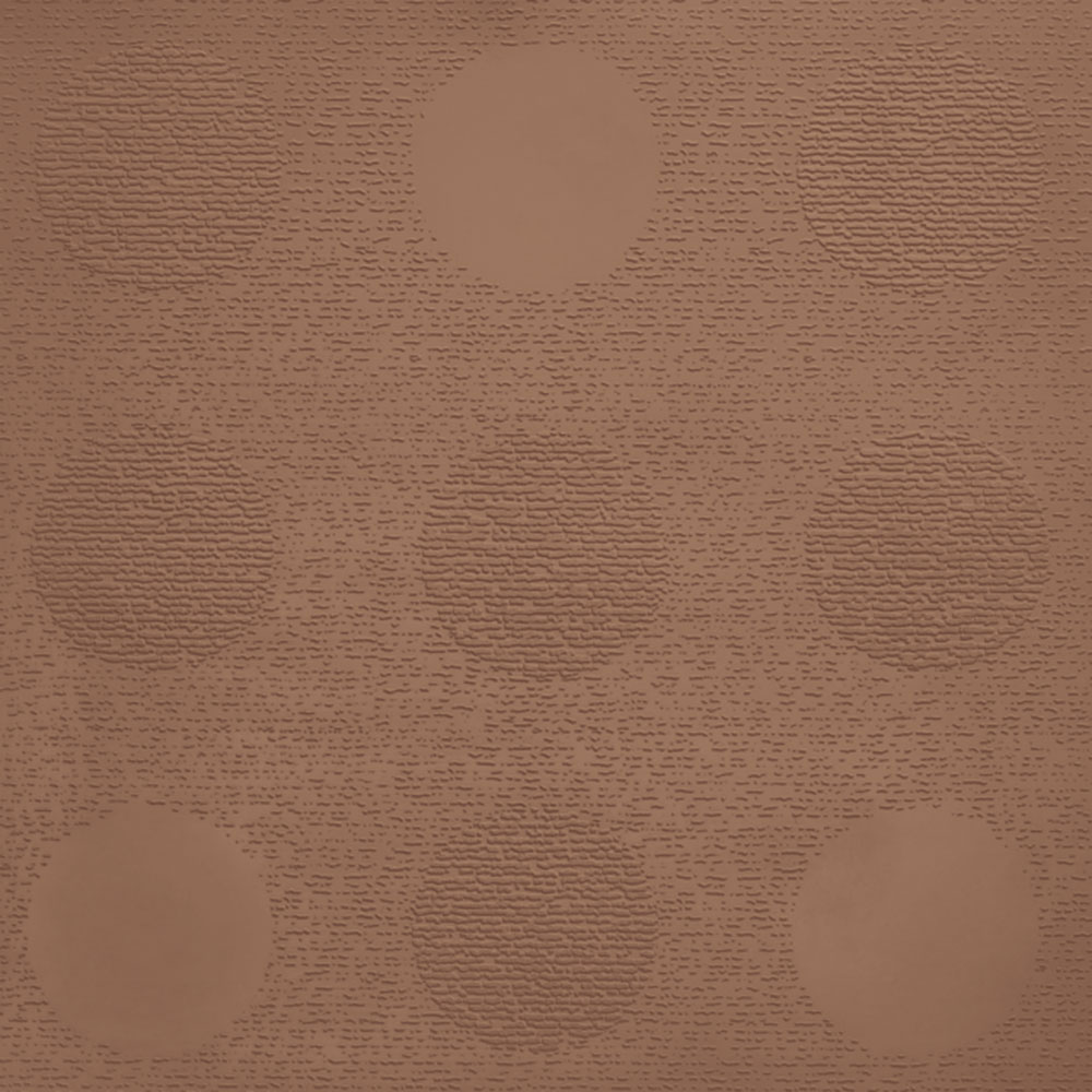 Johnsonite Circulinity Tic-Tac-Toe Texture 24 x 24 Adobe Peach