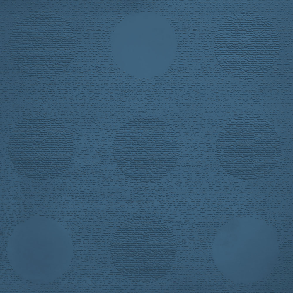 Johnsonite Circulinity Tic-Tac-Toe Texture 24 x 24 Blue Jeans