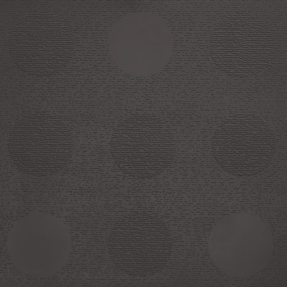 Johnsonite Circulinity Tic-Tac-Toe Texture 24 x 24 Dark Brown