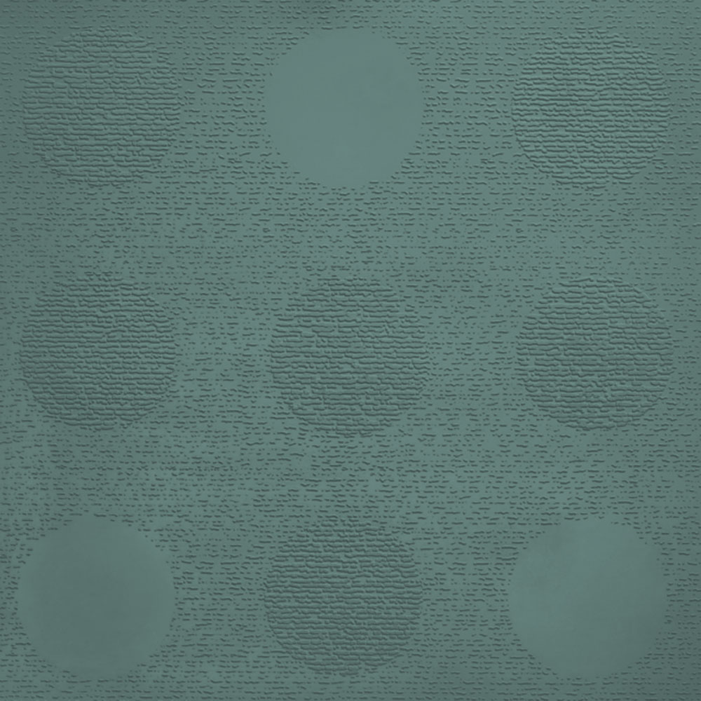 Johnsonite Circulinity Tic-Tac-Toe Texture 24 x 24 Heather Green