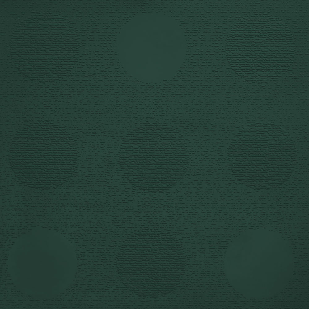 Johnsonite Circulinity Tic-Tac-Toe Texture 24 x 24 Hunter Green
