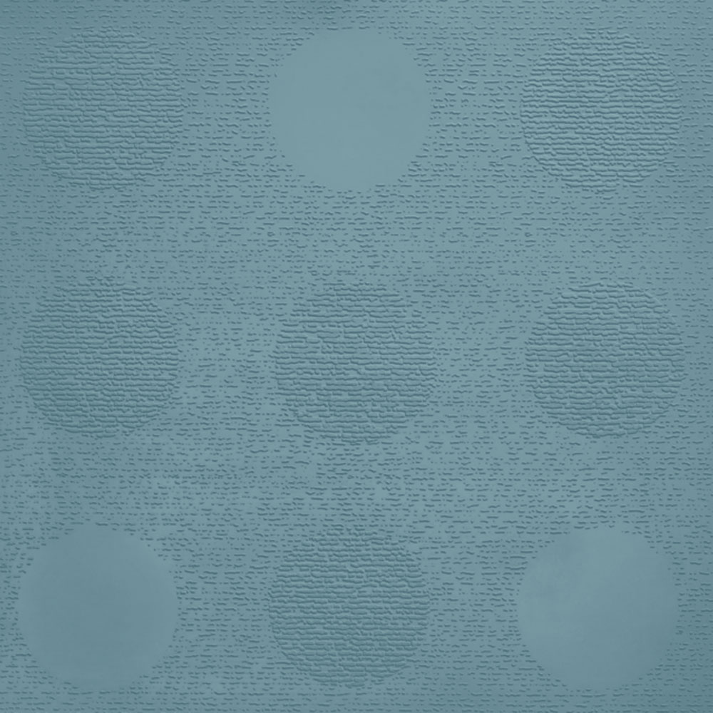 Johnsonite Circulinity Tic-Tac-Toe Texture 24 x 24 Sea Breeze