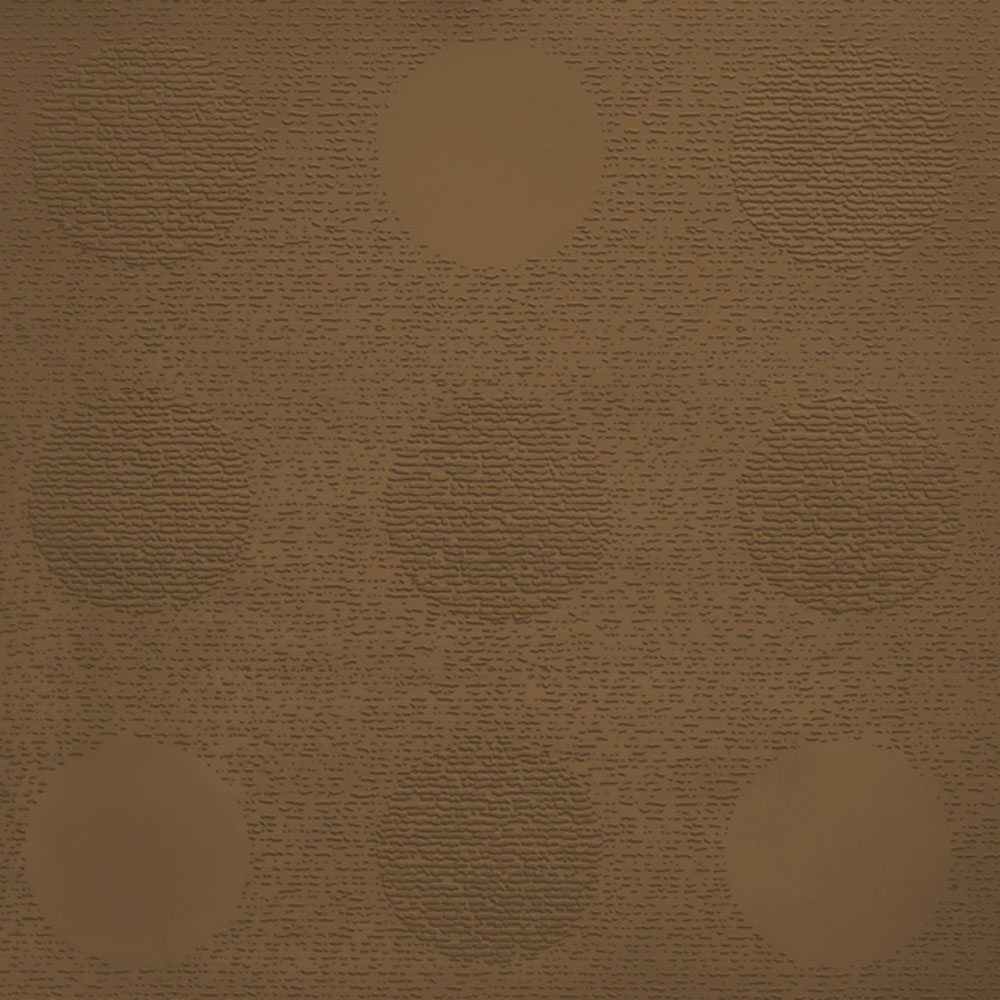 Johnsonite Circulinity Tic-Tac-Toe Texture 24 x 24 Seaweed