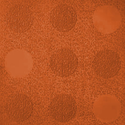 Johnsonite Circulinity Tic-Tac-Toe Texture 24 x 24 Tangerine Tango