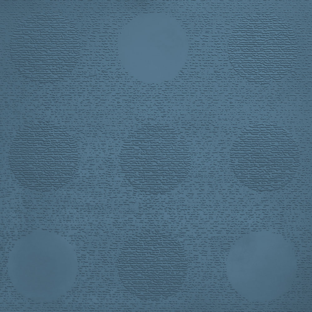 Johnsonite Circulinity Tic-Tac-Toe Texture 24 x 24 Windsor Blue