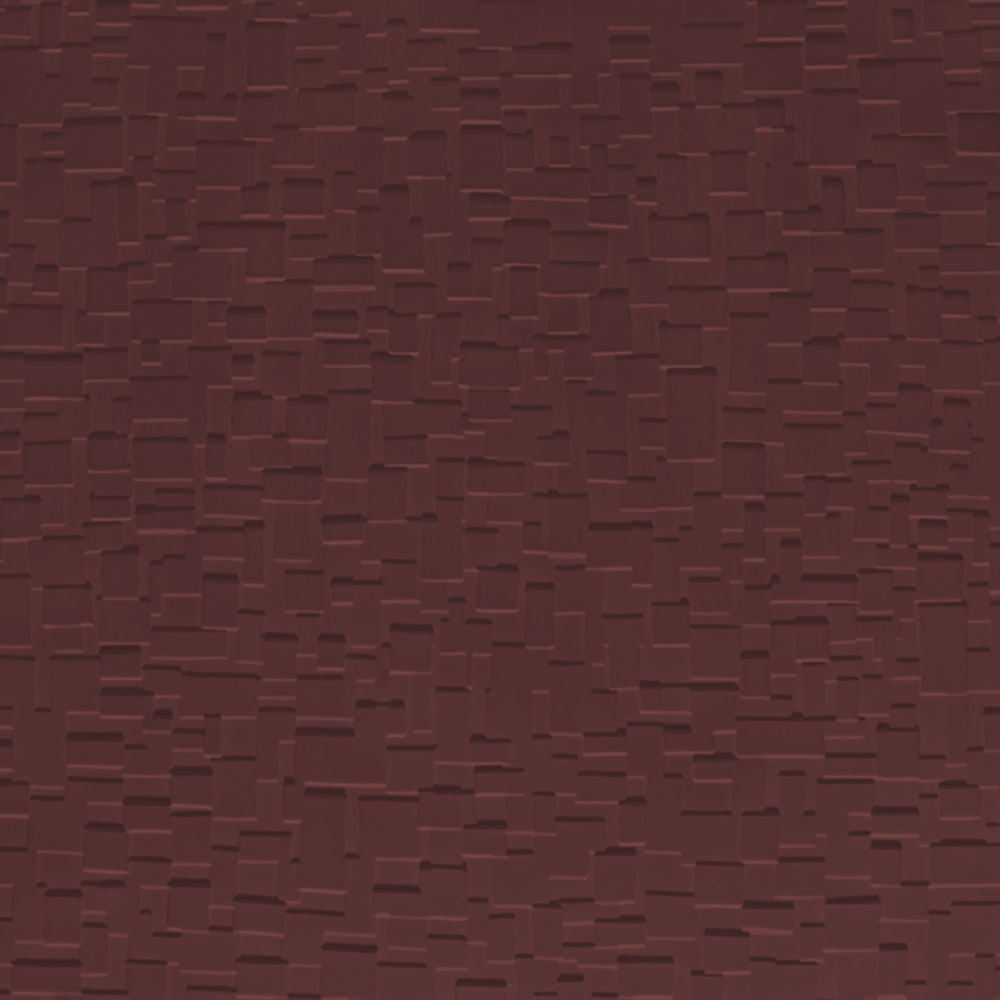 Johnsonite Solid Colors Cubis Surface 24 x 24 .125 Burgundy