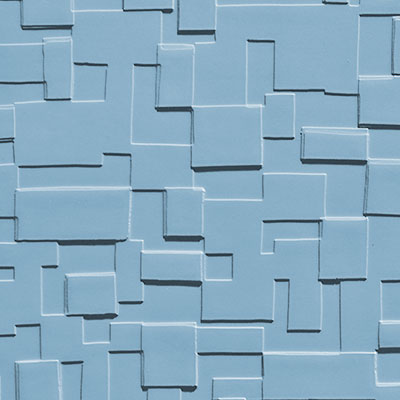 Johnsonite Solid Colors Cubis Surface 24 x 24 .125 Cerulean