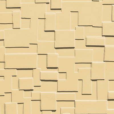 Johnsonite Solid Colors Cubis Surface 24 x 24 .125 Desert Camel